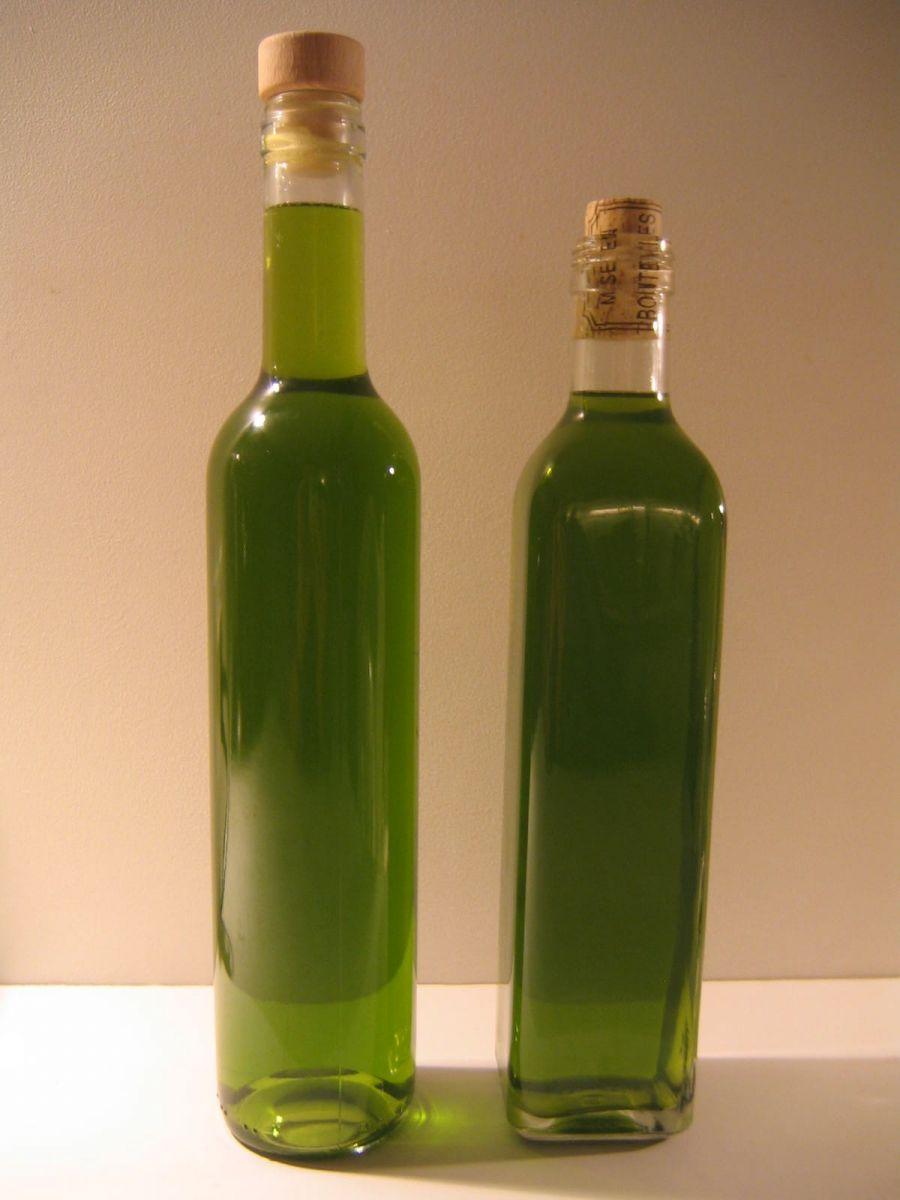 Grune Farbe Herstellen : Liqueur de Verveine selbst herstellen  a consommer avec modération