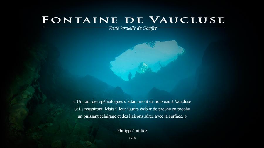 Die geheimnisvolle quelle der sorgue castel franc - Fontaine de vaucluse office de tourisme ...