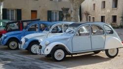 """Quelques voitures du """"Club 2 CV"""""""