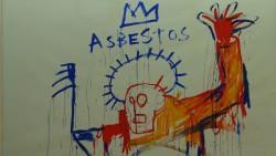 """Asbestos""/Jean-Michel Basquiat; Collection Lambert, Avignon, Foto: Castel Franc"
