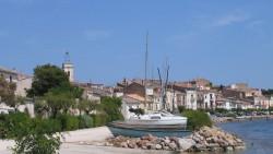 Uferpromenade von Bouzigues, Etang de Thau