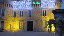 Ein gutes neues Jahr 2014 von Castel Franc/ Provence