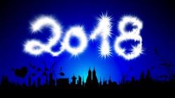 2018, Neujahrsgruß, a l'an que ven