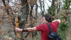 intuitives Bogenschießen in Frankreich: Kiran / Foto: Castel Franc, Provence
