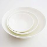 Schalenset (3) aus Bone-China-Porzellan von castel-franc.com