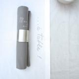 """Aufdruck """"...à table!"""" zum Tischläufer 150x45 cm, Farbe """"natur"""", ©Castel Franc"""