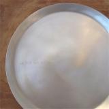 """versilbertes Metalltablett (250mm), """"la vie est belle..."""", by: Castel-Franc.com"""