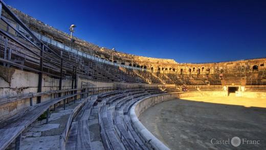 Arena de Nimes, by: Wolfgang Staudt, Flickr, Wikimedia