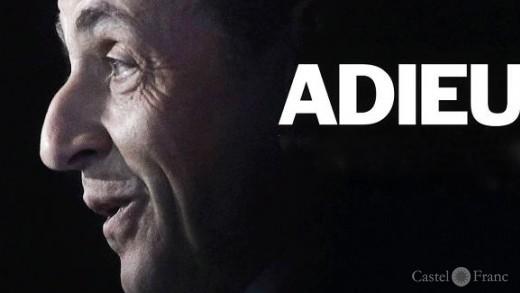 Adieu Sarkozy, Titelbild des Time Magazine