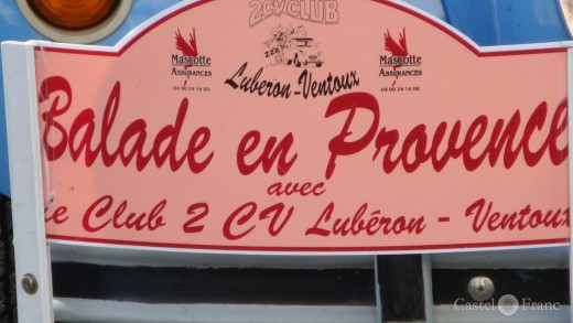 """Balade en Provence avec le """"Club 2 CV"""""""