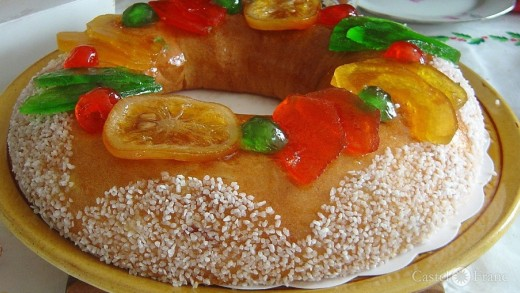Brioche des Rois, by: David.Monniaux, wikimedia commons