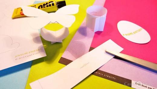 Castel-Franc.com creativ: Bastelbogen (Ostern) zum Selbermachen