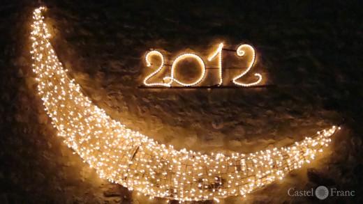 Neujahrsdekoration Velleron 2012