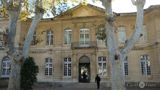 Hôtel de Caumont, Avignon; Collection Lambert - Foto: Castel Franc