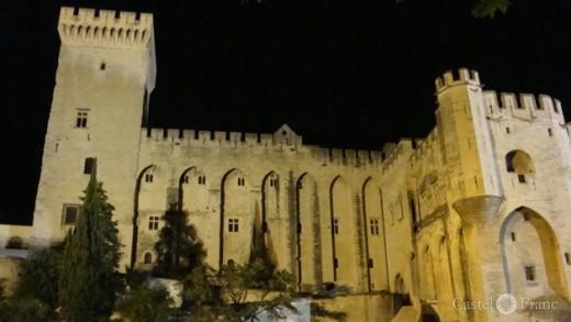 Palais des Pâpes, Papstpalst in Avignon, by: Jörgen Kipp/ Castel Franc Provence