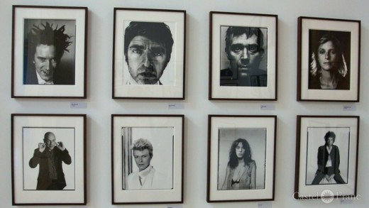 David Bowie, Patty Smith, Bob Dylan u.a. Portrits, von David Bailey/ Arles 2014