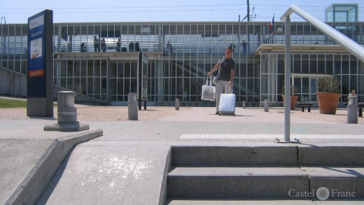 Avignon, Bahnhof (Gare) TGV