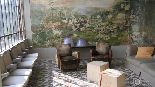 Salon in Chateau d'Uzer, Foto: castel-franc.com / Provence