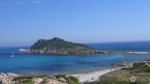 Blick auf Cap Tayllat bei Ramatuelle, Südfrankreich, Halbinsel von Saint Tropez