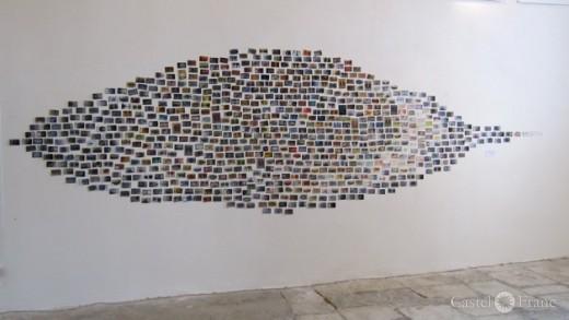 Banon/ Provence, Ausstellung von Gabi Wagner im Mai 2014