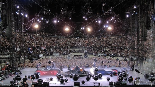 Metallica in der Arena von Nîmes, 2009
