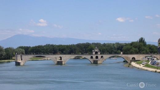Pont d'Avignon / Brücke von Avignon