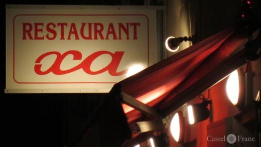 "Le Restaurant ""XA"" in Saint-Rémy de Provence, Foto: castel-franc.com"