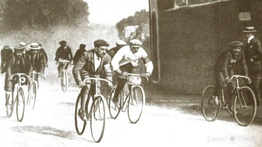 """la """"Tour de France"""" 1903, by: castel-franc.com"""