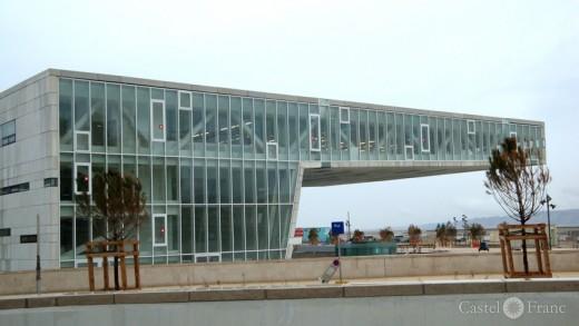 """Villa Mediterranée"", Marseille, by: castel-franc.com"