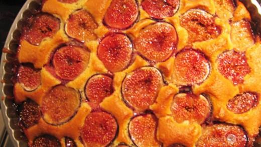 Feigenkuchen nach Rezept von Castel Franc, Provence
