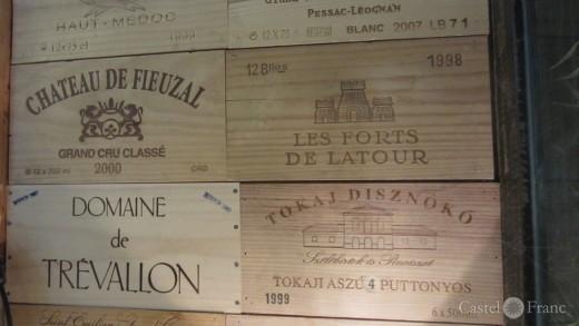 """""""le 17"""", bar à vins L'Isle-sur-la-Sorgue; Foto: Castel Franc, Provence"""