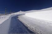 Schnee aufv dem Mont Ventoux, Südfrankreich, by: castel-franc.com