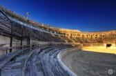 die antike Arena von Nîmes, Festival de Nîmes by. Castel Franc, Provence