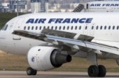 Flugzeug der Air France in Paris