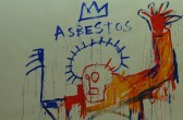 """Asbestos""/Jean-Michel Basquiat; Collection Lambert, Avignon, Foto: Castel Franc"