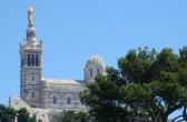 Notre Dame de la Garde, Marseille; by: castel-franc.com