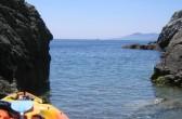 Sea Kayak am Mittelmeer, bei Gigaro; Foto: Castel Franc, Provence