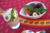 "Frühstück im ""Lou Cigalou"", Pernes - Foto: Castel Franc, Provence"