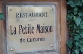 "Restaurant ""La petite Maison"" in Cucuron, Eric Sapet"