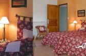 """la chambre """"Abricot"""" im Mas de la Lause in Le Barroux"""