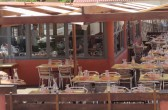 """Terrasse des Restaurants """"Au bord de l'eau"""", Marseille"""