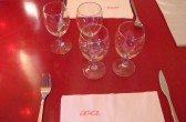 "gedeckter Tisch im Restaurant ""XA"", Saint-Rémy, Provence"
