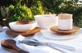 Schalen, Teller, Salatbesteck, Castel-franc.com
