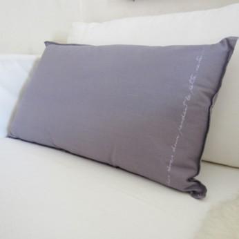 "Kissen 60 x 35 cm, Farbe: ""lavendel"", by: Castel Franc/ Provence"