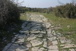 Reste der antiken Via Domitia (bei Ambrussum)