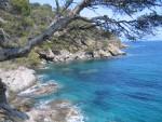 Die Côte d'Azur Bei Bormes-les-Mimosas