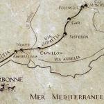 auf der Via Domitia in die römische Provence - mit: Castel Franc Tourguide